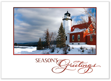 Lighthouse Christmas Cards - Lighthouse Holiday Cards: www.lighthousechristmascards.com
